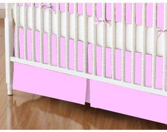 SheetWorld 100% Cotton Flannel Crib Skirt, Choose your color
