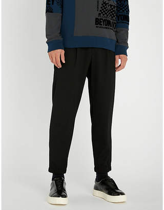 McQ Straight-leg jersey jogging bottoms