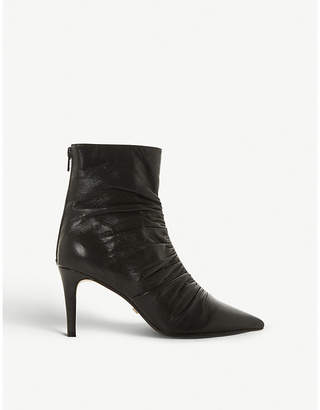 Dune Oasis leather ankle boots