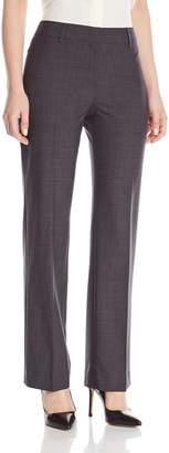 Jones New York Women's Flat Front Pant with Belt Loops
