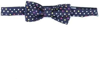 fe-fe polka dot bow tie