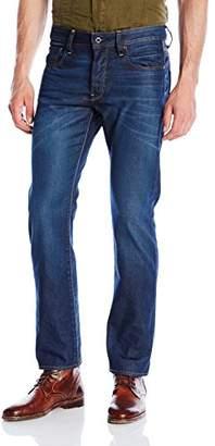 G Star G-Star Men's 3301 Straight Jeans - Blue (Dark Aged 51002.4639), 26W X 30L