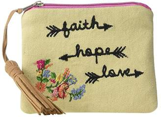 M&F Western Faith Hope Love Coin Purse