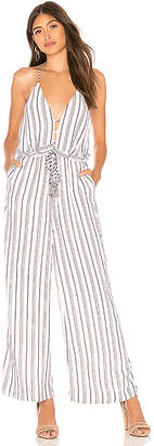 The Jetset Diaries Aries Stripe Jumpsuit
