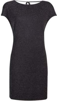 Dorothy Perkins Womens Petite Silver Shift Dress