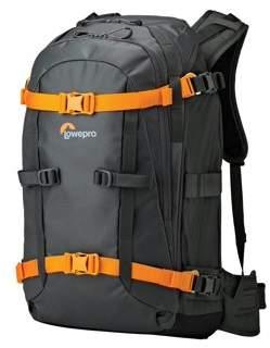 Whistler Lowepro BP 350 AW - Backpack for camera and lenses - Hypalon, 210D nylon, 420D nylon Oxford, TPU coated 420D nylon - gray