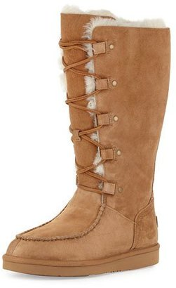 UGG Appalachin Lace-Up Boot, Chestnut $260 thestylecure.com