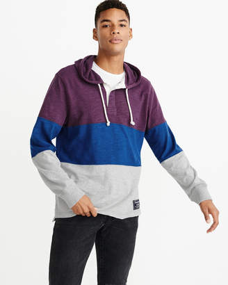 Abercrombie & Fitch Colorblock Rugby Hoodie