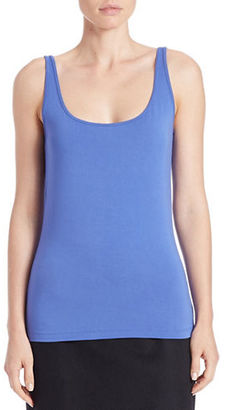 Lord & Taylor Stretch Roundneck Tank $34 thestylecure.com