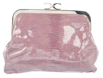 Just Cavalli Iridescent Embossed Clutch
