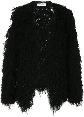Roche Ryan furry cardigan