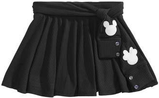 Disney Little Girls Mickey & Minnie Scooter Skirt