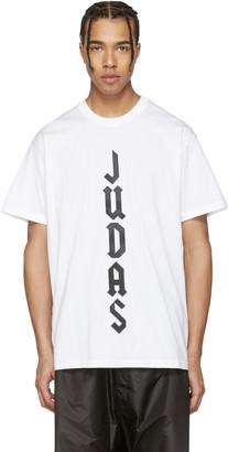 Givenchy White 'Judas' T-Shirt $490 thestylecure.com