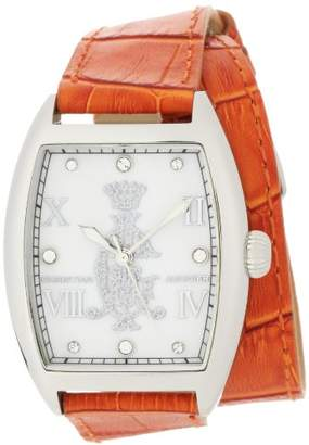 Christian Audigier Women's SPE 619 Intensity Entice Orange Watch