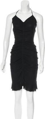 Chanel Silk Halter Dress