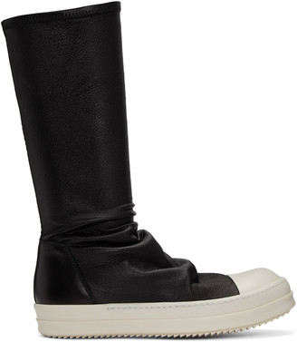 Rick Owens Black Sock High-Top Sneakers $1,730 thestylecure.com