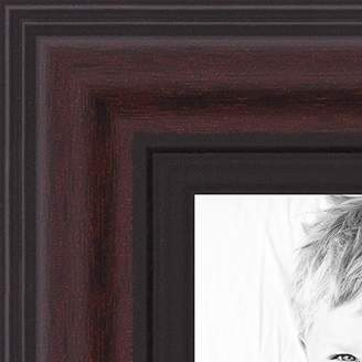 Hunter ArtToFrames NM-5x18-D8669-1 Wood Picture Frame 10x28