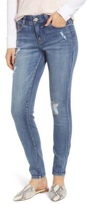 Jag Jeans Cecilia Distressed Skinny Jeans