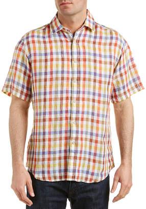 Newport Isle Linen Woven Shirt