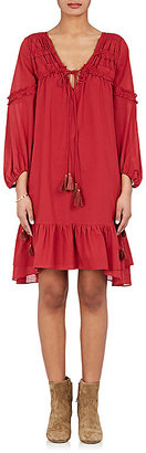 Derek Lam 10 Crosby Women's Ruffle-Trimmed Voile Dress $450 thestylecure.com