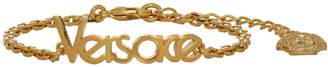 Versace Gold Vintage Logo Bracelet