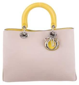 Christian Dior Tricolor Medium Diorissimo Bag