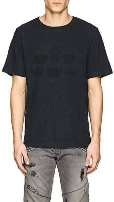 Pierre Balmain MEN'S CROWN-PRINT COTTON T-SHIRT