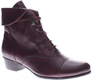 Spring Step Leather Ankle Boots - Galil