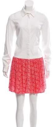Diane von Furstenberg Alison Mini Shirtdress