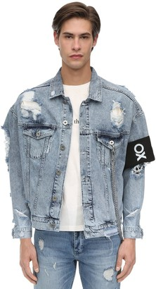 Other Oversize Crue Cotton Denim Jacket
