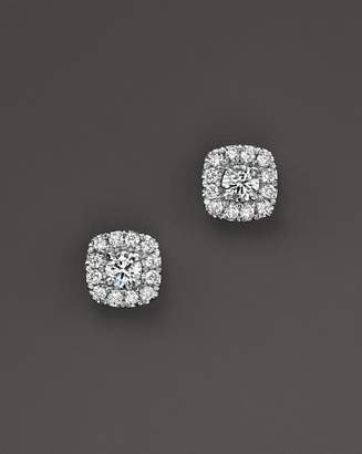 Bloomingdale's Diamond Square Halo Stud Earrings in 14K White Gold, .30 ct. t.w. - 100% Exclusive
