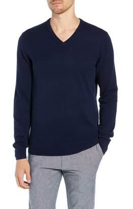 J.Crew Everyday Cashmere Regular Fit V-Neck Sweater