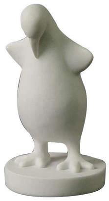 Original Penguin Looking Up Statue