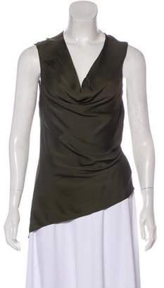 Amanda Wakeley Sleeveless Silk Top