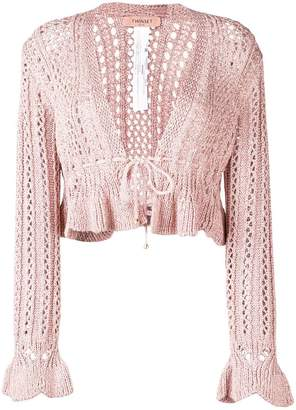 Twin-Set Perla Rose cardigan