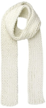 Women's Michael Stars Chunky Knit Skinny Scarf $58 thestylecure.com