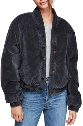 Free People Main Squeeze Bomber Jacket
