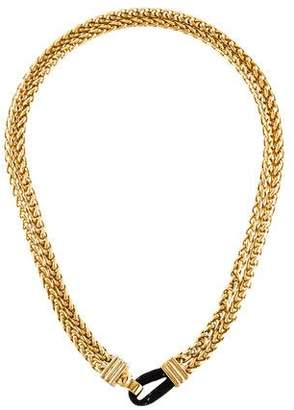 Elizabeth and James Double Wheat Chain Necklace