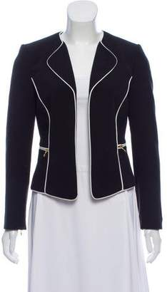 Tahari Notch-Lapel Long Sleeve Blazer