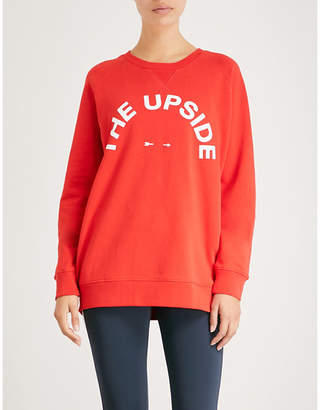 The Upside Sid cotton-jersey sweatshirt