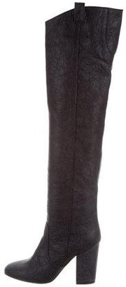 Laurence Dacade Leather Over-The-Knee Boots $375 thestylecure.com