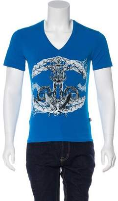Just Cavalli 2016 Nautical Print T-Shirt