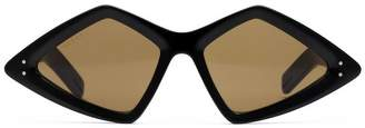 Gucci Diamond-frame sunglasses