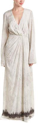The Jetset Diaries Python-Print Maxi Dress