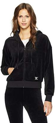 Juicy Couture Black Label Women's Velour Juicy Mania Sunset Jacket