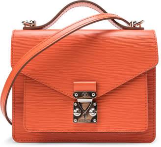 Louis Vuitton Top Handle Monceau Epi BB Orange