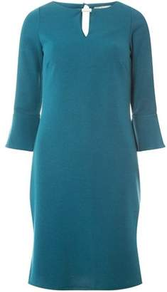 Dorothy Perkins Womens **Billie & Blossom Green Ponte Shift Dress