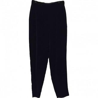 Rena Lange Blue Trousers for Women