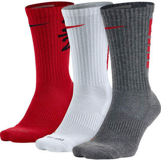 Nike 3-pk. Dri-FIT Fly-Rise Crew Socks