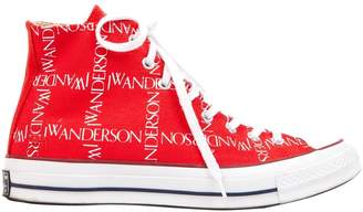 J.W.Anderson Converse X Converse X Red Cloth Trainers